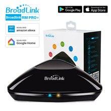 Thông Minh Broadlink RM Pro + Wifi Hồng Ngoại RF 4G Đa Năng Thông Minh Điều Khiển Từ Xa Broadlink RM Mini3 Làm Việc Với Google Trợ Lý alexa Echo