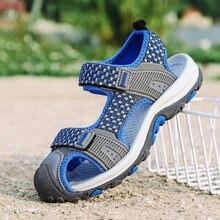 b67cb7df ULKNN cerca del dedo del pie sandalias para la playa verano niños zapatos  casuales zapatos de los niños zapatos recortes deporte.