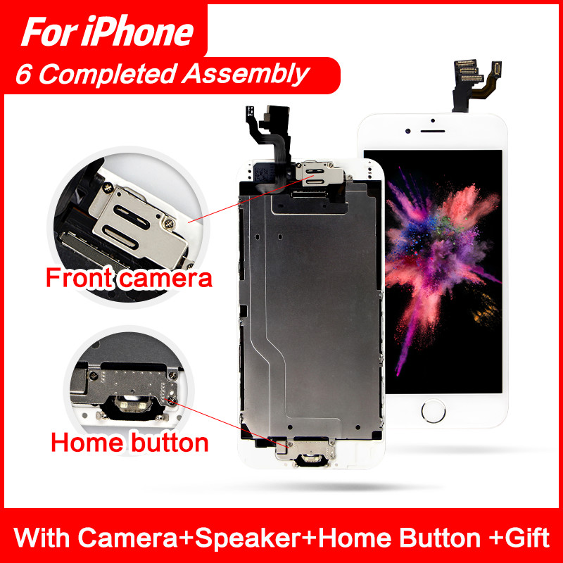 AAA+++ For iPhone 6 6Plus 6S Plus LCD Full Assembly Complete 100% With 3D Force Touch Screen Replacement Display No Dead Pixel image
