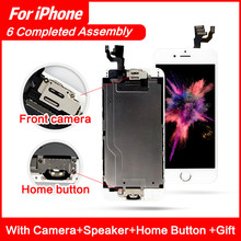Mobile Phone LCD For Display iPhone 6 Plus 5.5 Touch Screen Replacement For Ecran iPhone 6 Plus LCD Assembly Front Glass  sanka 20pcs for iphone 6 lcd display digitizer touch screen mobile phone parts assembly replacement ecran pantalla lcd tools