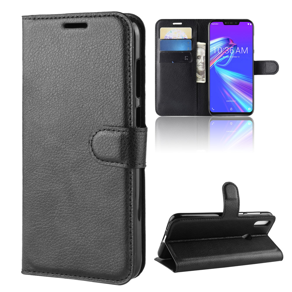 Asus Zenfone Max Pro M2 ZB631KL Case Flip 6.3 Luxury PU Leather Cover Phone Case For ASUS ZB631KL ZB ZB631 631 631KL KL Case