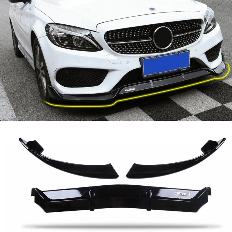 Pare-chocs avant de haute qualité pour Benz classe C W205 Spoiler C250 C300 C350 2015-2018 C43 pas c63