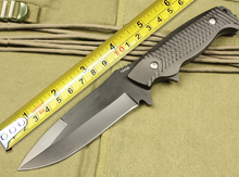 A27 Tactical Fixed Blade Knife 3Cr13Mov Blade Outdoor Rescue Knife Survival Straight Knives Camping Knife EDC Tool Hunting Tools