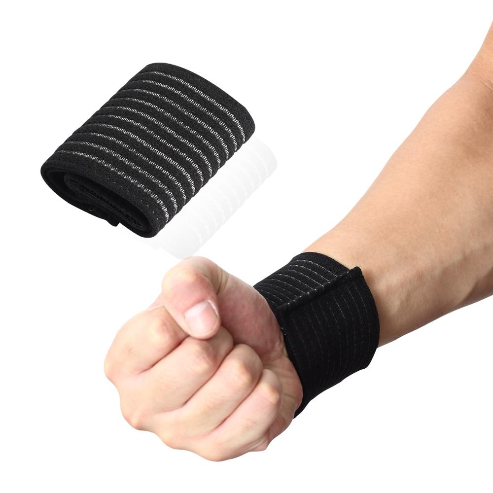 Bandage Bracer High Elasticity Wrist Support for Gym Sport Basketball/Tennis/Badminton Carpal Hand Protector Wrist Nylon Brace