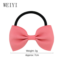 Children Girls Bowknot Hair Loop Solid Colors Baby Headdress Handmade Exquisite Production Fashion Style 703