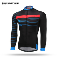 dbae75aca Xintown 2018 pro team Bicycle Jersey Long Sleeve Men Autumn Racing Cycling  Jersey Breathable Cycling Clothing