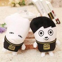 1 шт. Youpop KPOP Корейская Мода BTS Bangtan Мальчики плюшевые куклы милый мультфильм игрушка парень малыш рождественские подарки бесплатная доставка