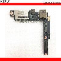 Original Part FOR LENOVO YOGA 3 PRO 1370 USB HDMI SD CARD READER BOARD AIUU2 NS A321 100% Tested Fast Ship