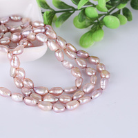 Authentic natural freshwater pearl necklace sweater chain long necklace multi layer