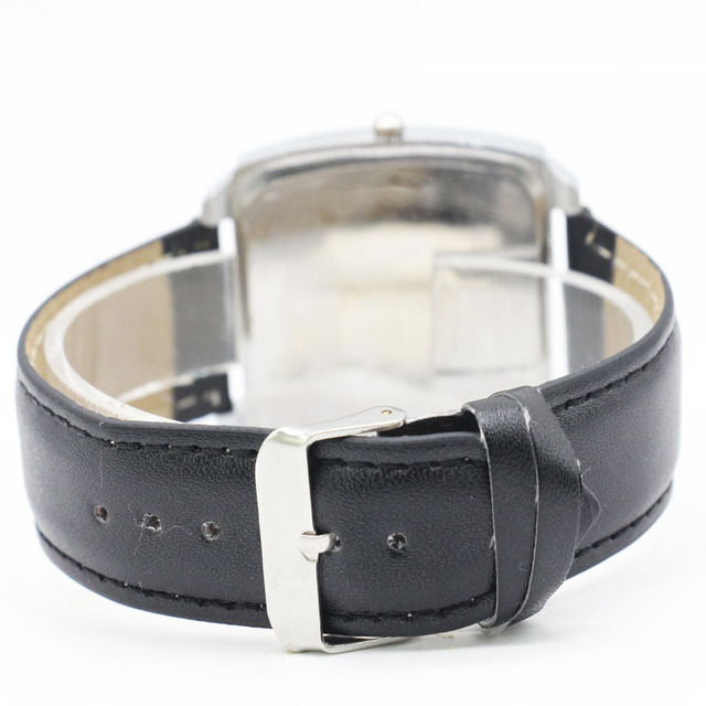 Fashion KIDS Leather Michael Jackson Dance Band Casual Analog Quartz Wrist Watch For Women Men