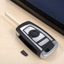 Modified Flip 4 Button 433MHZ Auto Remote Key HU92 ID44 PCF7935 Chip For BMW 325 330 318 525 530 540 E38 E39 E46 M5 X3 X5 E65