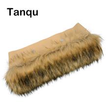 Tanqu sztuczny szop futro pluszowe dla O torba wykończenia termiczna pluszowa ozdoba pasuje do klasycznego dużego Mini Obag tanie tanio HUNTFUN Faux futra Ornament 0930