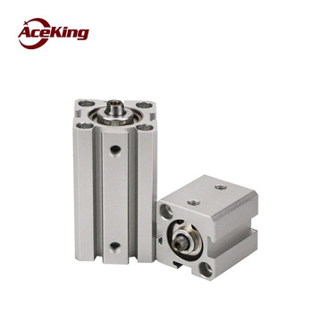 Sda cylinder small pneumatic yadeke type SDAD thin cylinder SDA12/16/20/25/32/40/50/63/80/100x5/10/20/25/30/40/50-SxB sda16 5 standard cylinder thin cylinder aluminum alloy thin pneumatic air cylinder