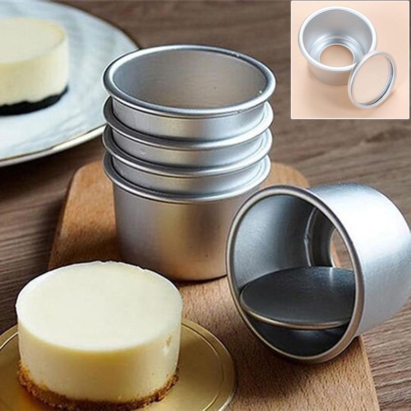5pcs Mini Homemade Optional Size Pastry Pudding Mold Bakew