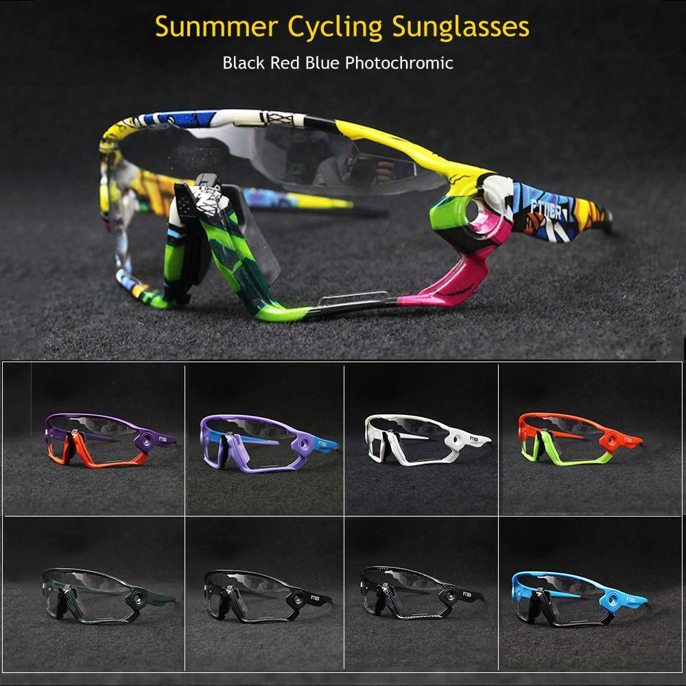 Image 2 - 2019 Summer Sunglasses Photochromic Cycling Glasses Sports UV400 Polarized MTB Bike Bicycle Riding TR90 Outdoor Sport EyewearCycling Eyewear   -