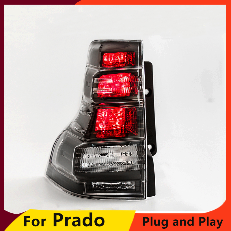 KOWELL Car Styling for LC150 GRJ150 Rear Taillights For LAND CRUISER PRADO 2013 2014 2015 2016