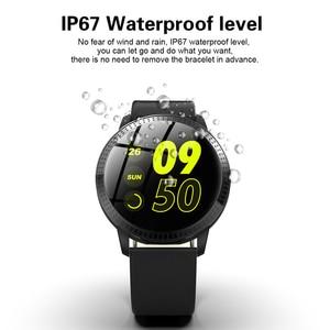Image 4 - Montre bracelet pour hommes, moniteur de pression artérielle du sommeil, étanche, podomètre, calories, sport, téléphone Android, luxe, montre pour femme