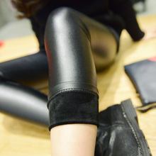4-14 T Filles en cuir pantalon fille legging épaissir pantalon chaud enfants legging/leggins noir enfants legging robe infantil Maigre