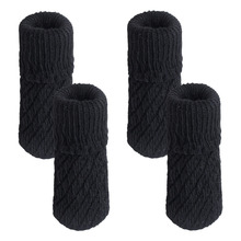 Knitting Wool Furniture Leg Socks Chair Table Leg Protector  Pads Chair Leg Floor Protectors