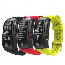 Niyoque S908 Bluetooth GPS трекер Smart Band IP68 Водонепроницаемый Смарт Браслет сердечного ритма фитнес-трекер Браслет Шагомер