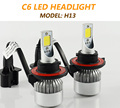 Led H4 H7 H11 9005 Car Headlight Bulbs COB Chips 72W 7600Lm High Low Beam Led Headlight Kit Auto Front Fog Light Lamp Dc 12/24V