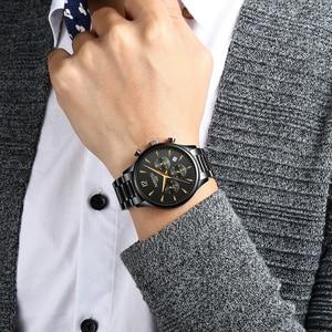 Image 5 - Nibosi 패션 남성 시계 럭셔리 비즈니스 쿼츠 시계 relogio masculino 남성 시계 스포츠 방수 손목 시계 herrenuhren