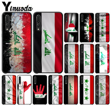Yinuoda Iraq National Flag TPU Soft Silicone Black Phone Case for Huawei Mate10 Lite P20 Pro P10 Plus Honor 9 10 Mobile Cover