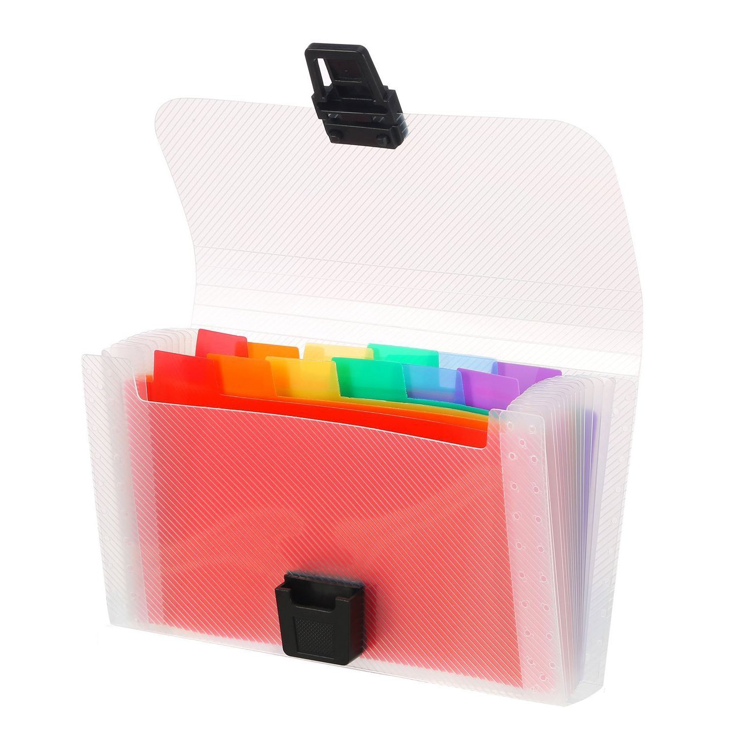 4 Pack Mini Document File A6 7.1 x 4.45 x 1.1 Inch Rainbow Expanding Folder 13 Pocket File Organizer 12 Labels Index-SCLL трусы x file