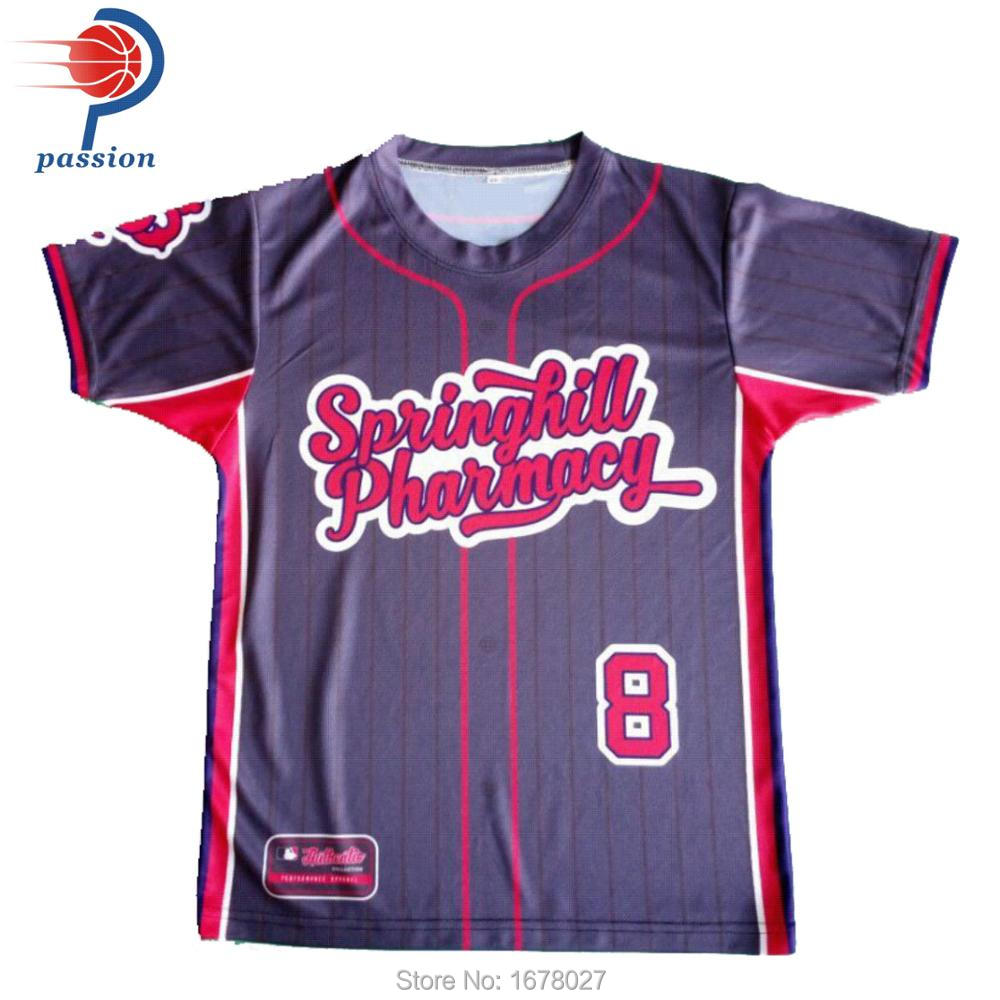 best sneakers 14059 55318 Wholesale Baseball Uniforms Black Plain Mens Mesh Baseball ...