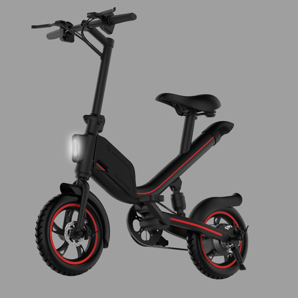 Mini Folding Scooter E-Bike Portable Foldable Electric Bicycle Bike Brushless Motor Lithium Battery Lightweight