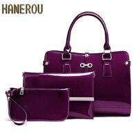 New 2017 Fashion Women PU Leather Shoulder Bags Ladies Patent Crossbody Bag Brand Luxury Handbags Women