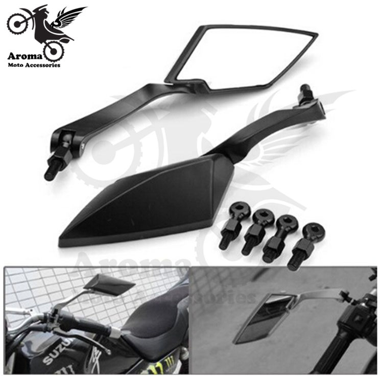 10mm 8mm univerzální motokros Boční zrcátka pro yamaha suzuki honda zrcadlo Motocyklové příslušenství motocyklu zpětné zrcátko moto