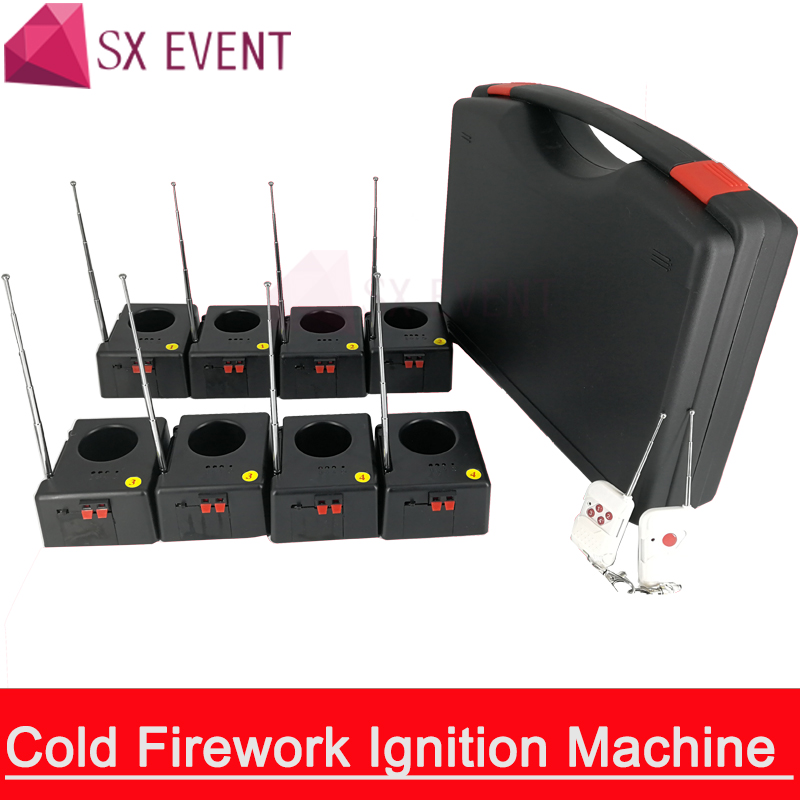 Fireworks SX-D08 Remote Control Wireless 8 Cues Receiver Stage Wedding Equipment Fountain Base Machine