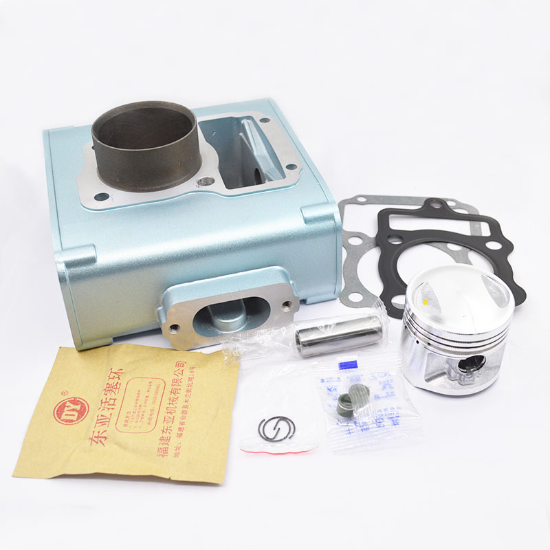 High Quaity Motorcycle Cylinder Kit For LONCIN CG125 CG 125 125cc Boiling Type Water-cooled Engine Spare Parts jiangdong engine parts for tractor the set of fuel pump repair kit for engine jd495