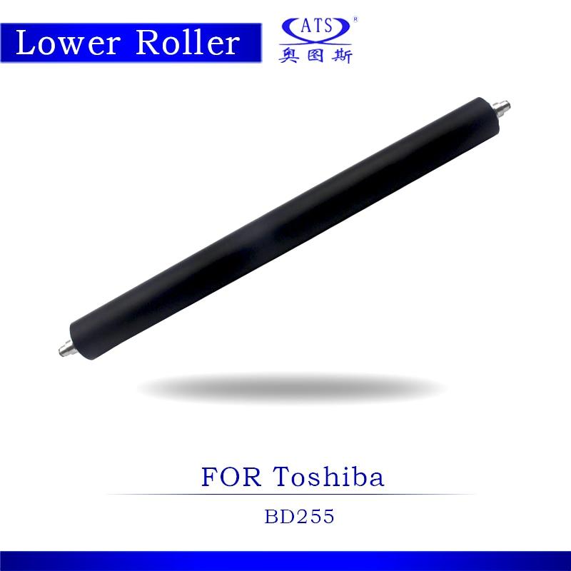 1pcs Photocopy Machine Pressure Lower Fuser Roller For Toshiba E-studio BD 255 Coiper Parts BD255