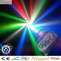 LED 16X3W Whirlwind Rotate Beam Stage Light RGBW DMX512 LED Bee Eye Beam Laser Bar Club Wedding KTV Home Party LED DJ Equipments