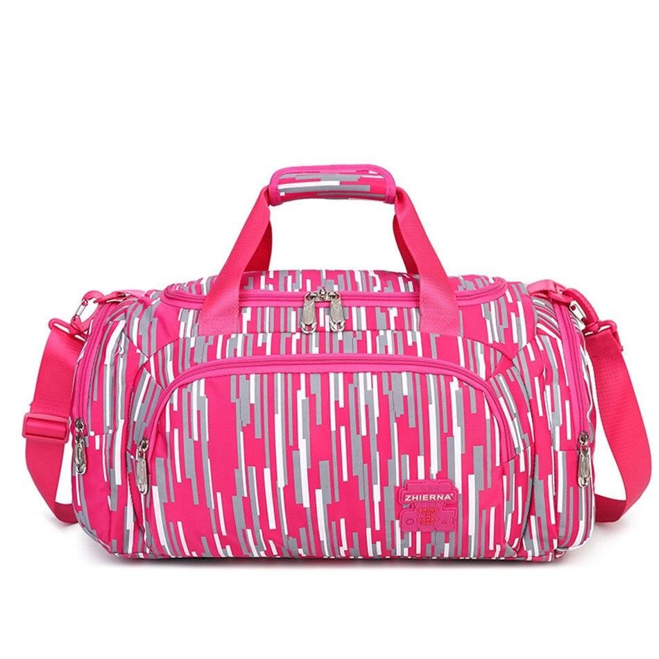 Sac à bandoulière Zhierna pour femmes sac à main de mode homme grande capacité sac à bandoulière de voyage sacs à bandoulière en nylon à pointe de vague
