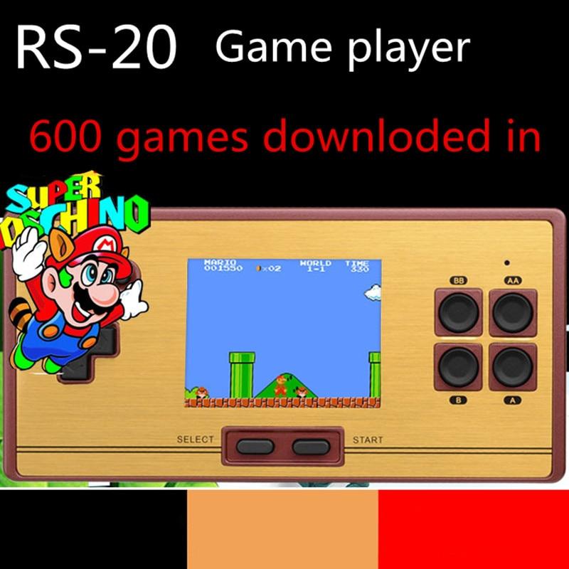 Coolbaby handheld Game machine RS 20 Game Player red and white machine nostalgic mini game machine