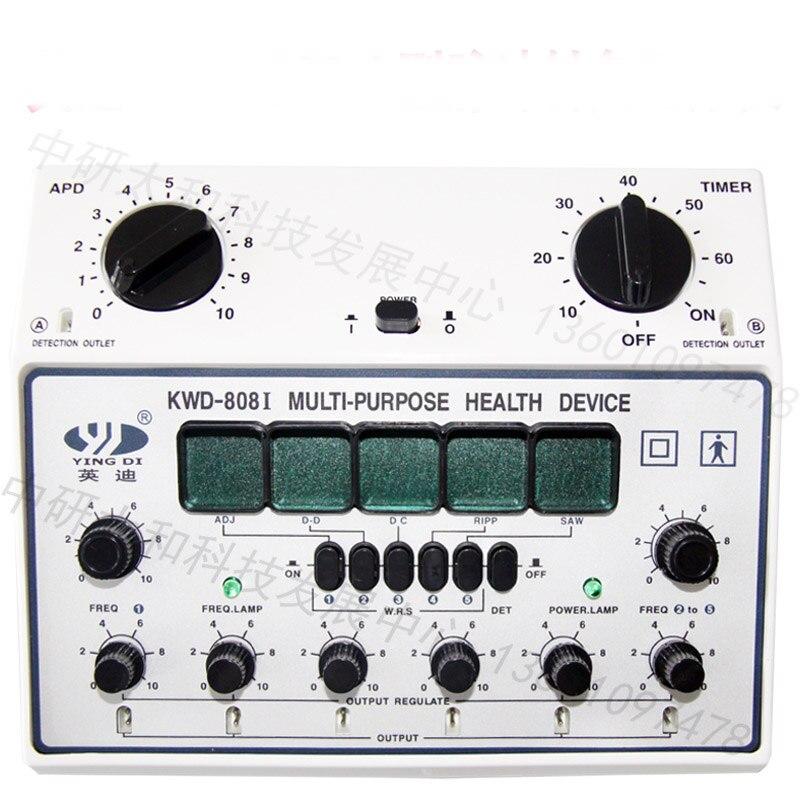 الكهربائية جهاز وخز بالإبر إبرة مشجعا KWD 808 II 6 قناة مخرجات الألم الإغاثة العضلات مشجعا-في التدليك والاسترخاء من الجمال والصحة على  مجموعة 1