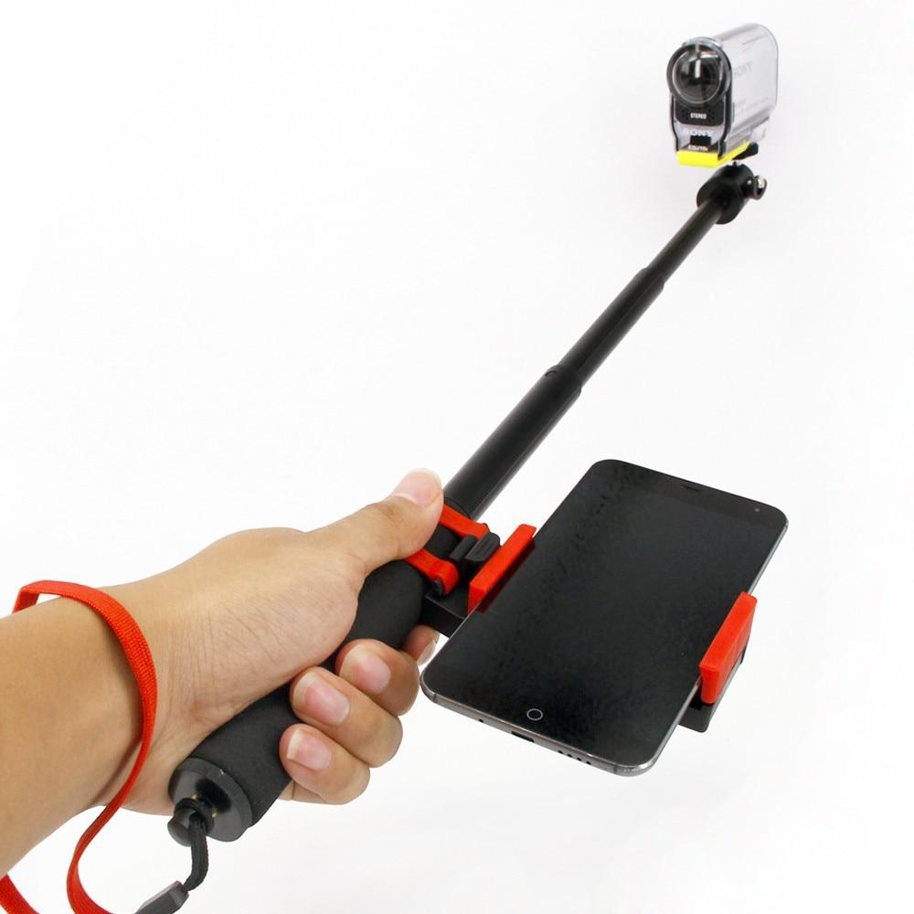 For Sony Action Cam Remote accessories Of HDR-AS100V AS200V AS30V AS15V AZ1 FDR-X1000V Extended Monopod