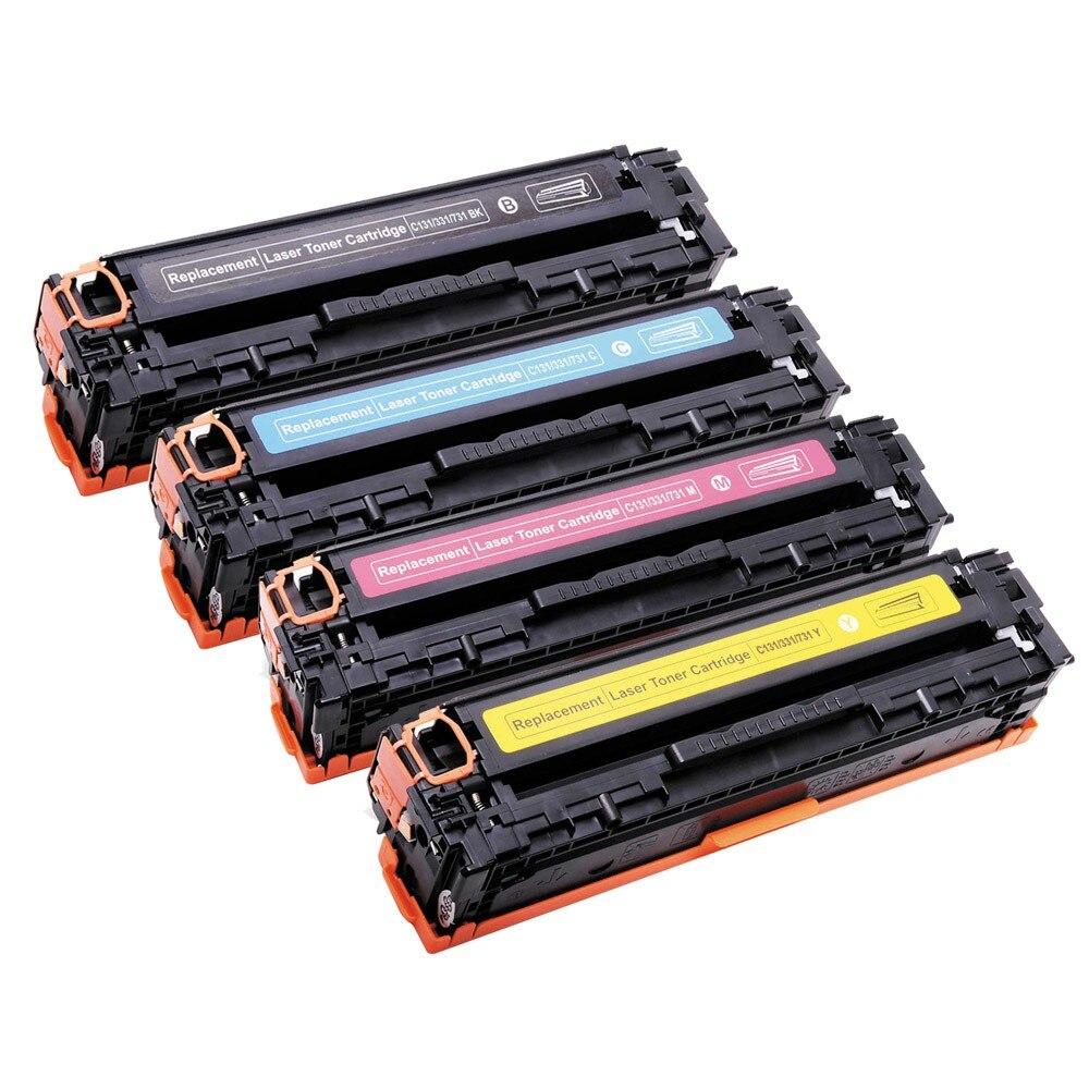 1400 BK 1500 C Y M Pages Toner Cartridge Compatible for Canon C131 MF8230CN 8280CW 331 731 BK C Y M LBP7100CN 7110CW|Toner Cartridges| |  - title=