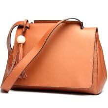 2017 лучшие из натуральной кожи женские сумки весна женский сумка на плечо модные женские сумки большой бренд ipad розовый кроссбоди женская сумка