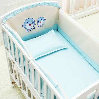 Baby Bedding Set 5 Pcs Pure Cotton Crib Bed Linen For Children Include Quilt Duvet Cover Pillow Pillowcase Flat Sheet Cot Kit discount 9pcs full set baby crib bedding set cot bedding sets cot bedding set 4bumper sheet pillow duvet 120 60 120 70cm