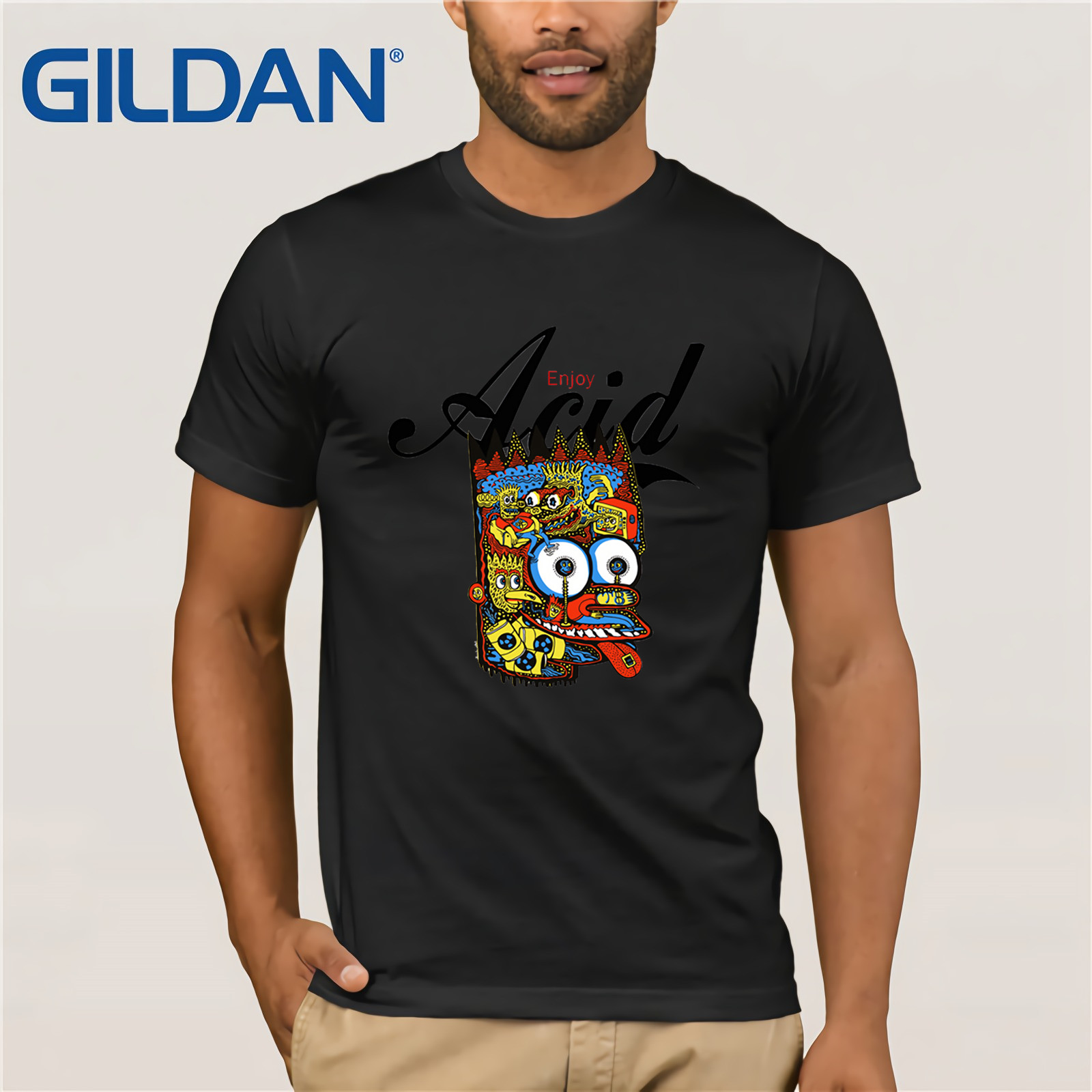 Selfless T Shirt Enjoy Acid Lsd Meskalin 2c B Al Lad Dmt Meo 3457 Cool Casual Pride T Shirt Men Unisex New Fashion Tshirt Loose Fine Quality T-shirts Tops & Tees