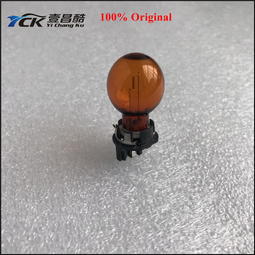 1PC YCK Original <font><b>PWY24W</b></font> MH2520 12V 24W WP3.3*14.5/4 Base Amber Car Front Rear Indicators (Genuine and Used) Ship in 24H Usually image