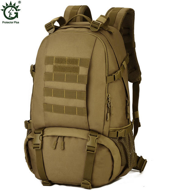 New Men Camouflage Backpack Trekking Military Backpacks Black Travel Waterproof  Backpack Army Green Male Rucksack Nylon Knapsack 75250d8f7c288
