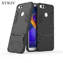 Voor Cover Huawei Honor 7X Case Robot Hard Rubber Telefoon Cover Case Voor Huawei Honor7X Cover Voor Huawei Honor 7 X Coque XYWZV