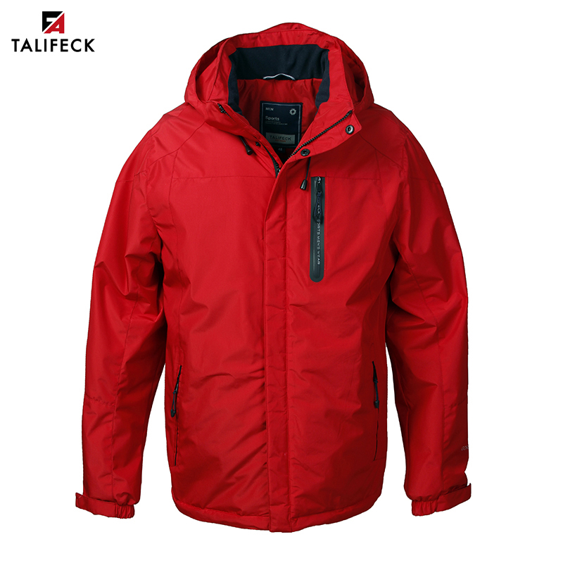62b7c7121 FLASH SALE] Tiger Force 2019 Men's Spring Jackets Hooded Casual ...