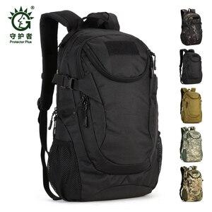 Image 1 - Waterproof 25L Molle Tactical Bag Mens Military Rucksack Nylon Climbing Bag Fishing Hiking Hunting Backpack For 14 Laptop