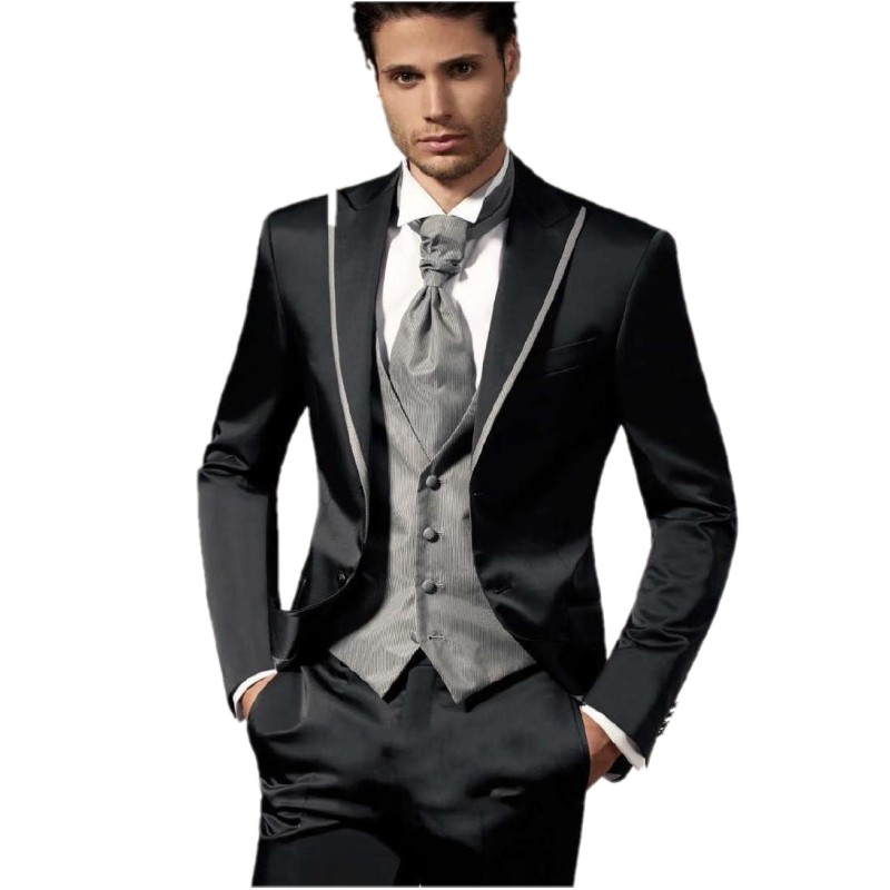 Wholesale Custom Made Men Wedding Suit Groom Tuxedos Men ...